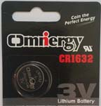 CR1632 LITHIUM BATTERY (5 Pack)